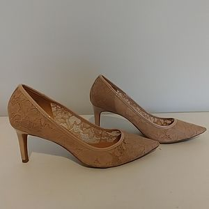Dress Barn lace heels
